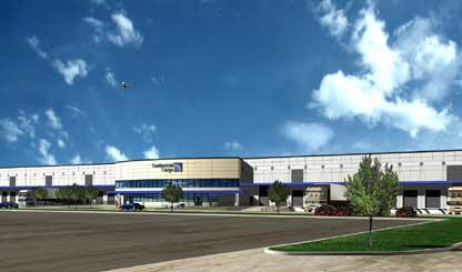 Continental Airlines New Cargo Facility
